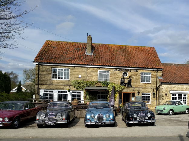 Photograph Here: Exterior. Day. Dambusters Inn, Scampton. 05 April 2019