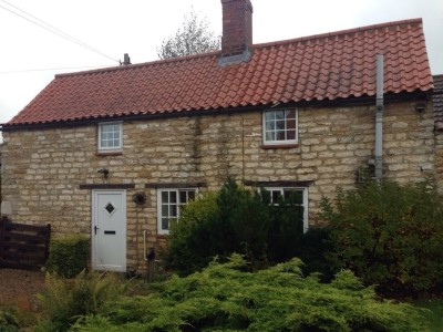 Exterior. Day. The Cottages Scampton – ONE–BEDROOM COTTAGE. Self Catering accommodation in Scampton, Lincolnshire, U.K.