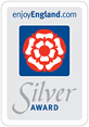 The Silver Award symbol from Visit England.com