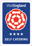 Four Star self-catering logo from Visit England.com